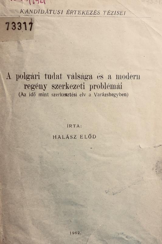 Halász Előd köteteinek borító- és címlapja
