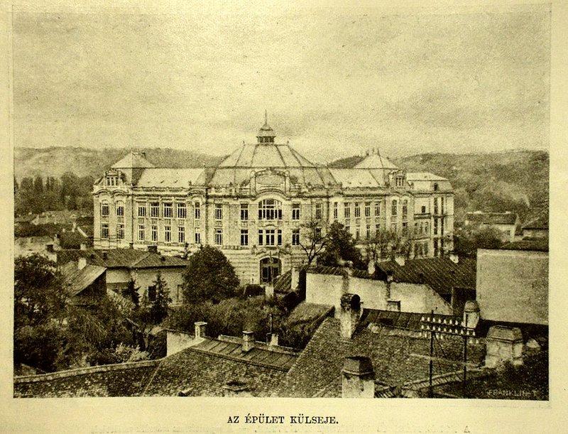 A Kolozsvári Egyetemi Könyvtár épülete