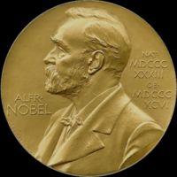 Szent-Györgyi Albert Nobel-díj érmének előlapja