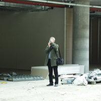 SZTE József Attila Tanulmányi és Információs Központ építkezés, épületbejárás  - 2003. szeptember 30.